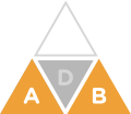 Original Medicare triangle icon