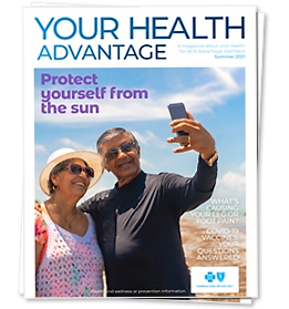 Your Health Advantage Spring 2018 magazine cover